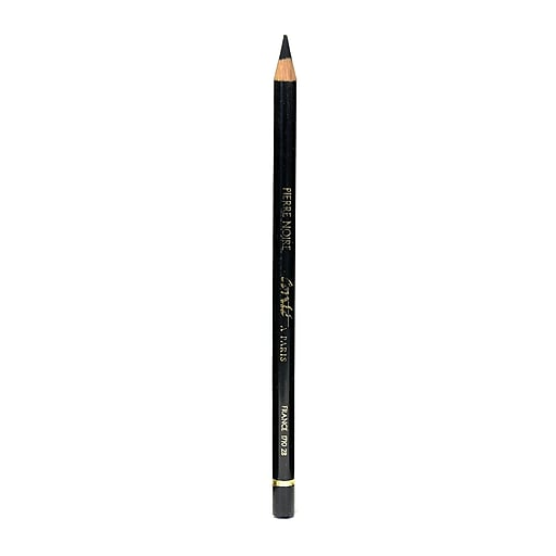 Conte Crayons Esquisse Drawing Pencils, 2B, Black, 12/Pack