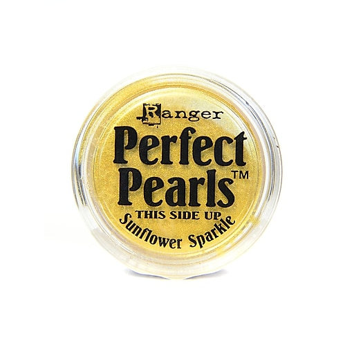 Ranger Perfect Pearls Powder Pigments sunflower sparkle jar [Pack of 6]