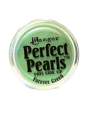 Ranger Perfect Pearls Powder Pigments Forever Green Jar Pack of 6 (63586-PK6)