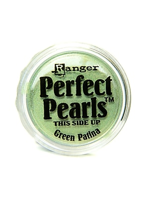 Ranger Perfect Pearls Powder Pigments green patina jar [Pack of 6]
