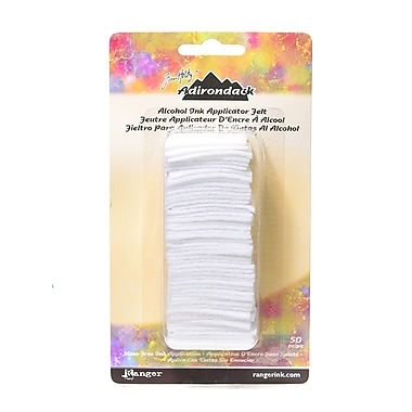 Ranger Adirondack Alcohol Ink Applicator 50 Replacement Felts, 3/Pack (62487-PK3)