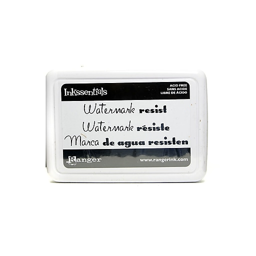 Ranger Clear Resist Pad and Ink, 3/Pack (22769-PK3)