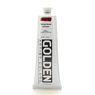 Golden Heavy Body Quinacridone Crimson Acrylic, 5oz (32508)