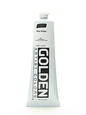 Golden Heavy Body Acrylics Raw Umber 5 oz. (41579)