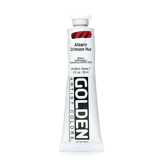 Golden Heavy Body Acrylics, Historical Alizarin Crimson Hue, 2oz (75678)