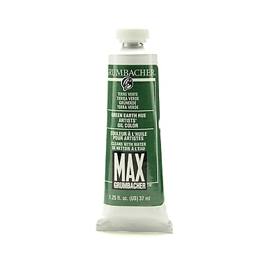 Grumbacher max water soluble oil paint oz tube for Oil paint colors names