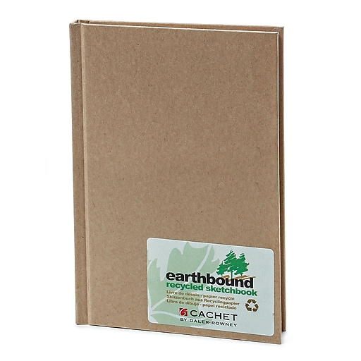 Cachet Earthbound Sketch Books 5 1/4 in. x 8 1/4 in. [Pack of 2]