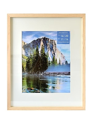 Nielsen Bainbridge Gallery Wood Frames for Canvas 16 in. x 20 in. natural 11 in. x 14 in. opening