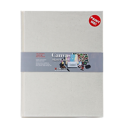 Cachet Canvas Sketch Book 11 in. x 8 1/2 in.