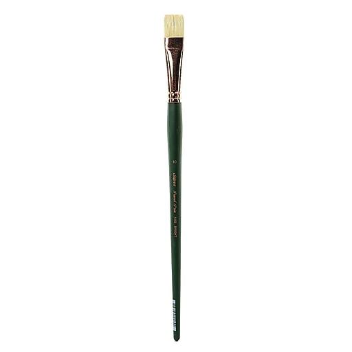 Silver Brush Grand Prix Series-1003 Hog Bristle Brush, 10 Bright No 1002 (85113)
