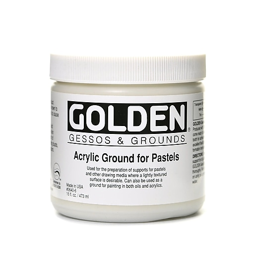 Golden Acrylic Ground for Pastels 16 oz.