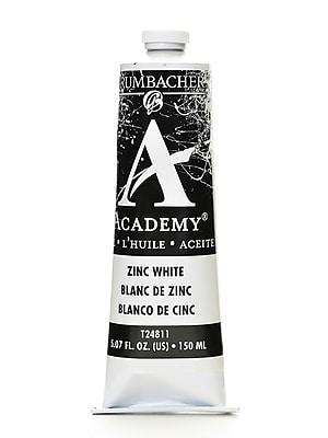 Grumbacher Academy Oil Paint, Zinc White, 5.07 oz. tube [Pack of 2]