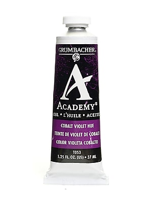 Grumbacher Academy Oil Colors cobalt violet hue 1.25 oz. [Pack of 3]