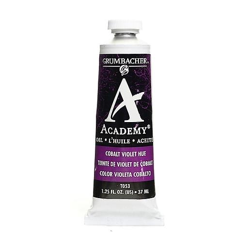 Grumbacher Academy Oil Colors cobalt violet hue 1.25 oz. [Pack of 3]