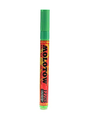 Molotow One4All Acrylic Paint Marker, 2 mm, Universes Green #222 [Pack of 6]