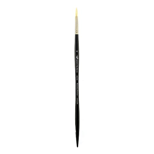 Winsor and Newton Artists' Oil Brushes, 4 Round (13795)