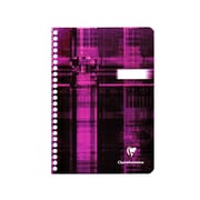 Clairefontaine Classic Wirebound Notebook with Pocket Dividers 6 in. x 8 1/4 in. [Pack of 3]