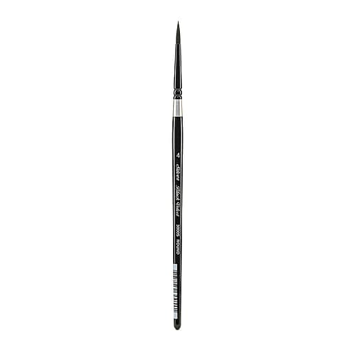 Silver Brush Black Velvet Series Brushes 4 round 3000S