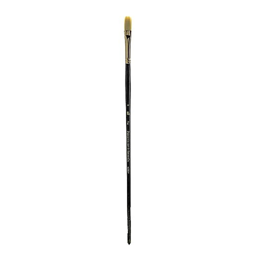 Princeton Series 6300 Synthetic Bristle Acrylic And Oil Brush, 4-Flat (17030)