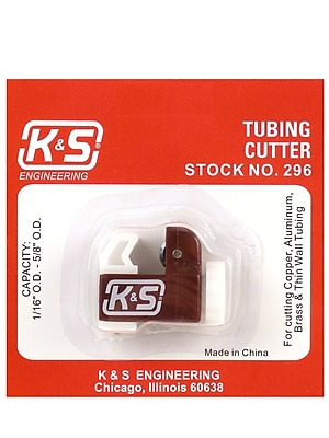 K and S 76666-PK4 Tubing Cutter 4/Pack