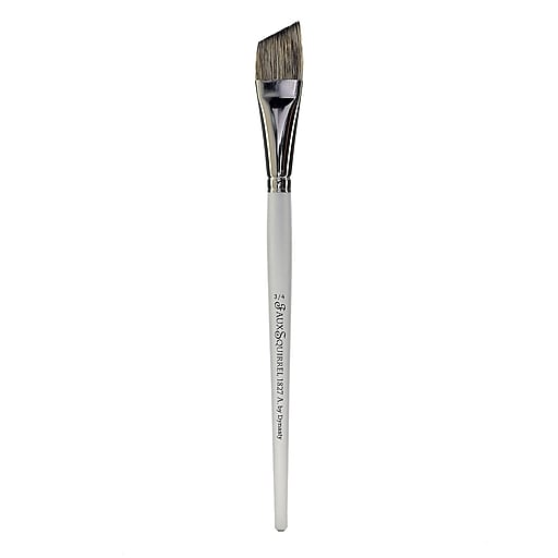 """Dynasty Faux Squirrel Brushes, 3/4"""", Angle (22420)"""