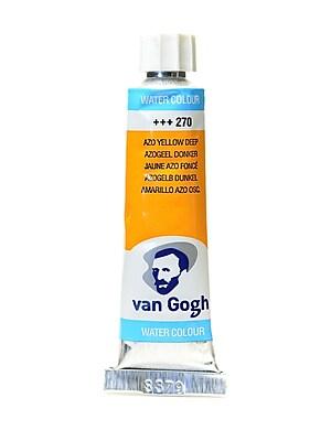 Van Gogh Watercolors, Azo Yellow Deep, 4/Pack (11589-PK4)
