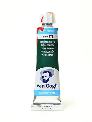 Van Gogh Watercolors, Phthalo Green, 4/Pack (89122-PK4)