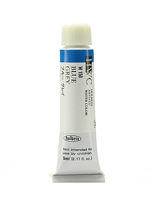 Holbein Artist Watercolor, Blue Grey, 5ml, 2/Pack (97048-PK2)