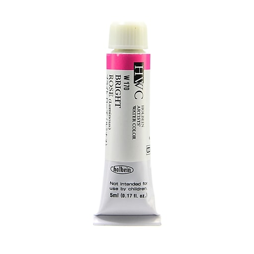 Holbein Artist Watercolor bright rose luminous 5 ml [Pack of 2]