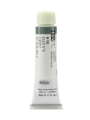 Holbein Artist Watercolor Davy's Gray, 5ml, 2/Pack (97082-PK2)