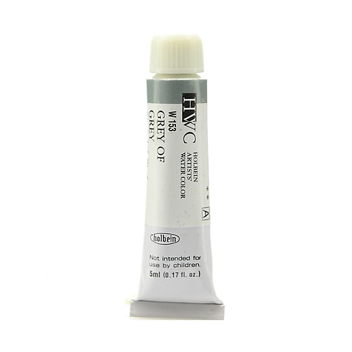 Holbein Artist Watercolor, Grey of Grey, 5ml, 2/Pack (97088-PK2)