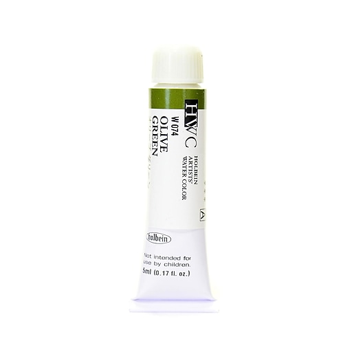 Holbein Artist Watercolor olive green 5 ml [Pack of 2]