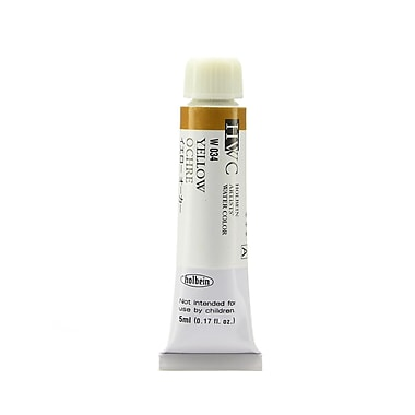 Holbein Artist Watercolor yellow ochre 5 ml [Pack of 2]