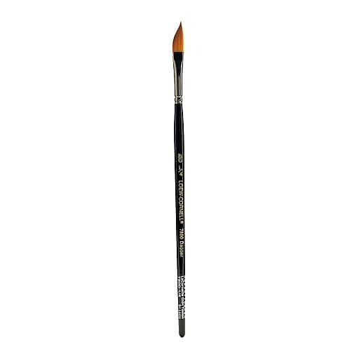 """Loew Cornell Golden Taklon Brushes, 1/4"""" Dagger no 7800 (42730)"""