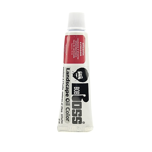 Bob Ross Landscape Oil Colors alizarin crimson 1.25 oz. [Pack of 3]