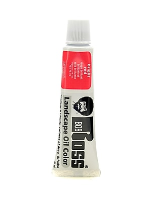 Bob Ross Landscape Oil Colors bright red 1.25 oz. [Pack of 3]