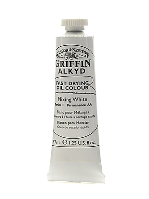 Winsor and Newton Griffin Alkyd Oil Colours mixing white 37 ml 415 [Pack of 3]