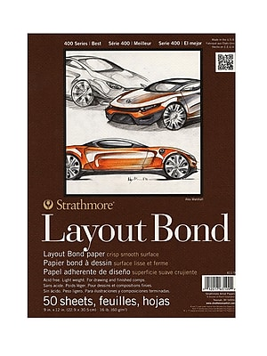 Strathmore Performance Series Layout Bond Pads 9 in. x 12 in.