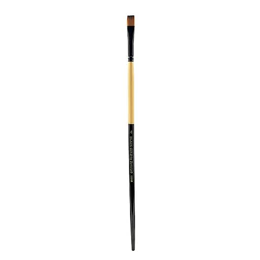 Dynasty Black Gold Series Long-Handled Synthetic Brushe, 4, 1526B, Bright (21793)