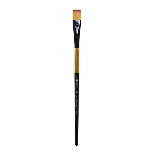 Dynasty Black Gold Series Long Handled Synthetic Brushes 10 bright 1526B