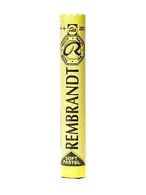 Rembrandt Soft Round Pastels, Light Yellow 201.7, 4/Pack