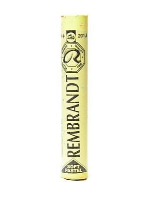 Rembrandt Soft Round Pastels Light Yellow 201.8 Pack of 4