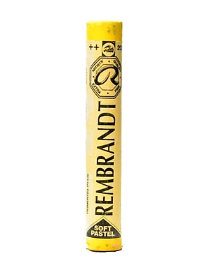 Rembrandt Soft Round Pastels deep yellow 202.5 each [Pack of 4]