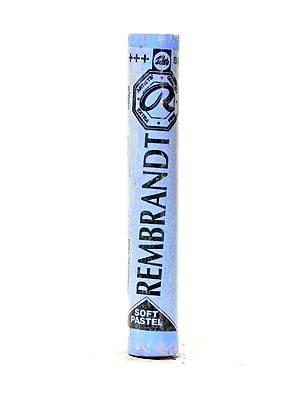 Rembrandt Soft Round Pastels, Ultramarine Light no 505.8, 4/Pack (32980-PK4)