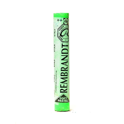 Rembrandt Soft Round Pastels permanent green light 618.5 each [Pack of 4]