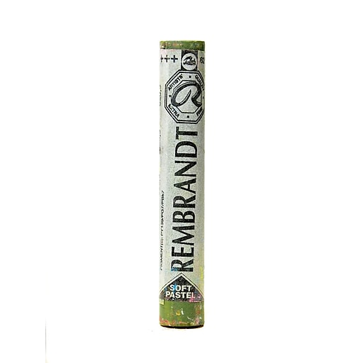 Rembrandt Soft Round Pastels olive green 620.3 each [Pack of 4]