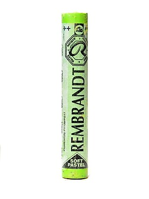 Rembrandt Soft Round Pastels Olive Green 620.7 Pack of 4