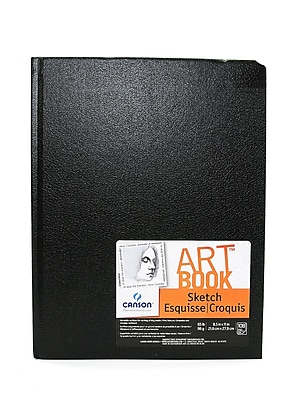 Canson Basic Sketch Book 8 1/2 in. x 11 in. [Pack of 2]