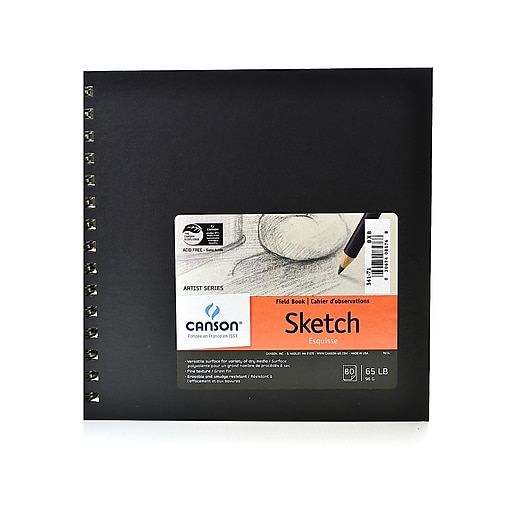 Canson Field Sketch Book 8 in. x 8 in. [Pack of 2]