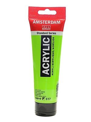 Amsterdam Standard Series Acrylic Paint, Yellowish Green, 120ml, 3/Pack